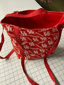 University of Houston Cougars— Machine-Quilted Tote Bag