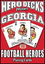 GEORGIA FOOTBALL HEROES HERO DECKS PLAYING CARD DECK NEW