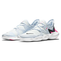 Nike Women's Free RN 5.0 Running Shoes White Hyper Pink Black AQ1316-101 NEW