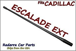 "FITS: '06-'13 Cadillac Escalade EXT - 13"" SHORT Flexible Rubber Antenna Mast"