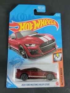 Hot Wheels Gamestop Exclusive Red 2020 Ford Mustang Shelby GT500 #248