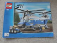 Lego 4439 Police Heavy Left Helicopter