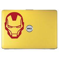 Iron Man Superhero Head Logo Bumper/Phone/Laptop Sticker (AS11122)