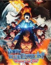 Blue Exorcist DVD (Season 1+2)(Vol.1-37 end +OVA+Movie) with English Dubbed