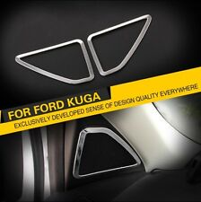 Ford Kuga ST TDCI Chrome Frame Deckor for speakers Cover Blinds