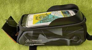 WEST BIKING MTB Bike Front Top Tube Bag Waterproof Bicycle Frame Pouch Case Camo
