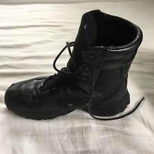 Oakley light assault boots / black / leather Size US 8  Black Vibram Soles