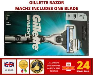 Gillette MACH3 Men's Razor Handle includes one  blade - sealed pack