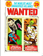 Wanted 9 (1973): FREE to combine: in Fine condition