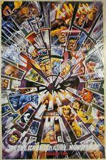 ORIGINAL MARVEL COMICS X-MEN ANNIVERSARY POSTER - MAGNETO'S BACK! -SHATTERED ART