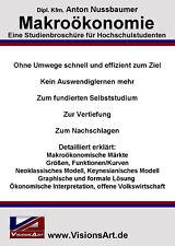 Makroökonomie – Diplomarbeit! Wirtschaftswissenschaft! (Studium/Hochschule/Uni)