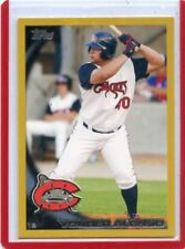 """2010 TOPPS PRO DEBUT #28 YONDER ALONSO """"GOLD"""" SP ROOKIE RC #49/50 - REDS, PADRES"""