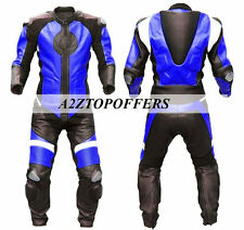 New Customized Track Day Motorbike racing Leather Suit biker 1 & 2 Piece Suit