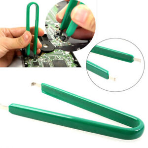 IC Chip Extractor Circuit ROM PCB Remover Puller Clip Plier Tool PLCC U-Type