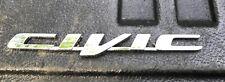 2006 - 2011 honda civic rear trunk chrome emblem  fits  2007 2008 2009 2010 2011
