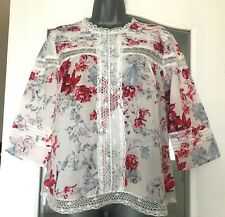 Marks and Spencer Ladies Blouse - Size 14 (Petite) - Worn Once