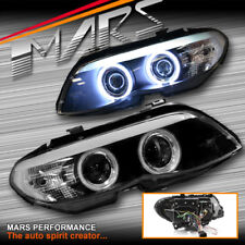 Black CCFL Angel Eyes Projector Head Lights for BMW X5 E53 04-06 LCI Xenon model
