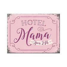 Hotel Mama Open 24 hours Fridge Magnet Fridge Refrigerator Magnet 2 3/8x3 1/8in
