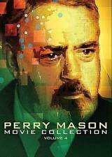 PERRY MASON MOVIE COLLECTION PERRY MASON VOL 4 DISC SET NEW DVD