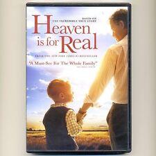 Heaven Is for Real 2014 PG Christian movie, new DVD NE Greg Kinnear, Martindale