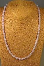MORGANIT KETTE COLLIER 100 ct. rosa Beryll Edelstein Schmuck Heilstein Halskette