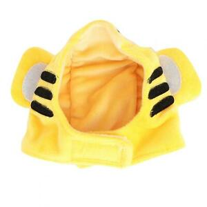 Cotton Tiger Pattern Pet Costume Hat Funny Cat Cap Cute Headwear Yellow For Cat