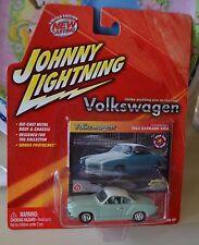 Johnny Lightning 1964 KARMANN GHIA Volkswagen Green  NEW