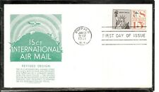 US SC # C63 Statue Of Liberty FDC. Anderson Cachet
