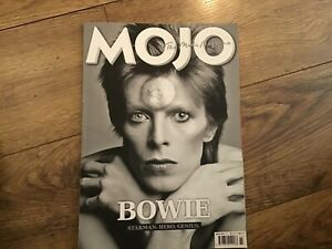 David Bowie  magazine Mojo March 2016 ex condition