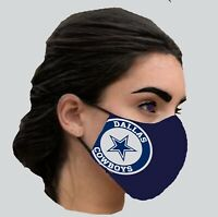 Dallas Cowboys NFL Adult Unisex and Adult large Face Masks