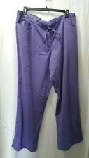 3Xl Grey's Anatomy Signature Series Professional Wear By Barco Purple Scrub Pant