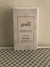 Philosophy *Pure Grace* Eau De Parfum Fragrance 4oz *Holiday Snowflake Edition