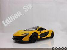 Mclaren P1 2013 Yellow Met MotorMax 1:24 MTM79325Y Model