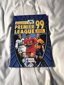 Merlin 1999 Premier League Football Sticker Album Complete VGC with Binder