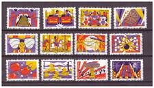 Serie The Funfair de Francia sellos adhesivos 2017
