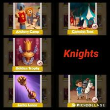 Coin Master Cards Knights 1X Set
