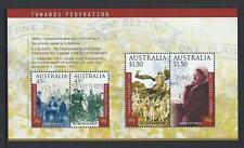 AUSTRALIA 2000 Towards Federation Minisheet MNH (SG MS1981)