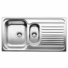 "Blanco TIPO 1 1/4"" LEFT HAND BOWL KITCHEN SINK Stainless Inset with Drainer 60cm"