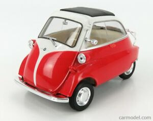 MODELLINO AUTO BMW ISETTA 1955 RED SCALA 1:18