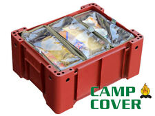 Camp Cover Wolf Box Pouches (3 thirds) - With Clear Tops - CCB004-F