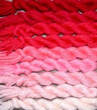 New Paternayan Wool 3ply Persian Yarn Needlepoint Crewel 940 Cranberry Family