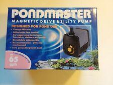 Danner/Pondmaster 65 GPH Magnetic Drive Utility Water Pump- Aquariums-Pond 02510