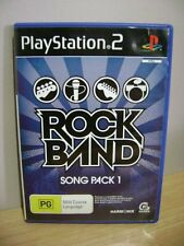 Rock Band Song Pack 1...PS2 Game..FREE POST AU
