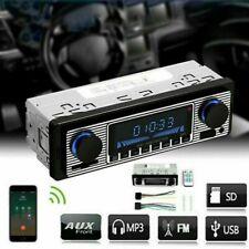 Bluetooth Retro Autoradio Freisprech einrichtung USB SD AUX MP3 1DIN Oldtimer