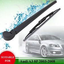 Rear Windshield Windscreen Window Wiper Arm Blade Set For Audi Q7 4L