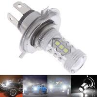 1Pc H4 9003 Fog Light Led Headlight 80W Hi/Lo 90W Beam Driving Drl Lamp White IY