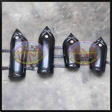 Medieval Knight Iron Steel Arm Guards and Leg Guards Set Vambraces Leg Greaves