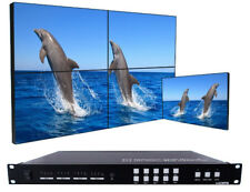 4x4 Seamless HDMI Matrix Switch with 2x2 Video Wall Support RS232 and IP Control