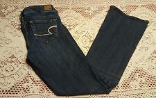 American Eagle Artist Jeans, Size 4 Short, Medium/Dark Wash, VGC