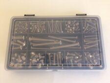 Assorted M3 Metric Kit 525 pcs Stainless Steel Allen Socket Button Head Screws